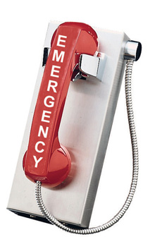 674POOL Heavy Duty, Emergency Analog Pool Phone with (Handset & Armor Cord)