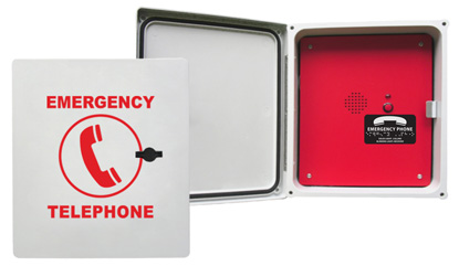 970RIP Enclosed Emergency Phone (Hands Free & VoIP)
