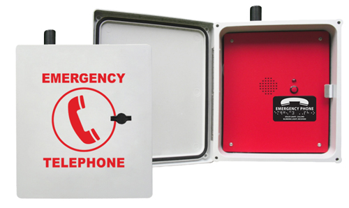 970WIFIV Enclosed Emergency Speaker Phone (Hands Free & Wireless Wi-Fi VoIP)