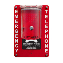 984POOLC1 Emergency Speaker Pool Phone with Protective Cover