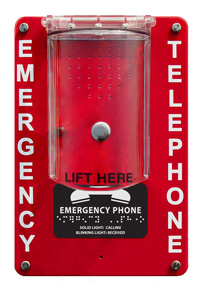 984RIPC1 Emergency VoIP Speaker Phone with Cover (Hands Free)