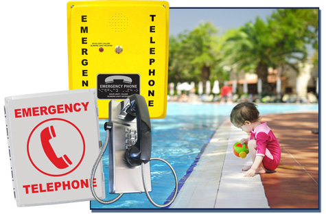 RATH® Emergency Pool Phones