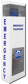 2100-EPL2 30 inch Call Station - Analog Speaker Pool Phone (Hands Free)