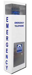2100-ELV2 30in Call Station - VoIP Speaker Pool Phone (Hands Free)