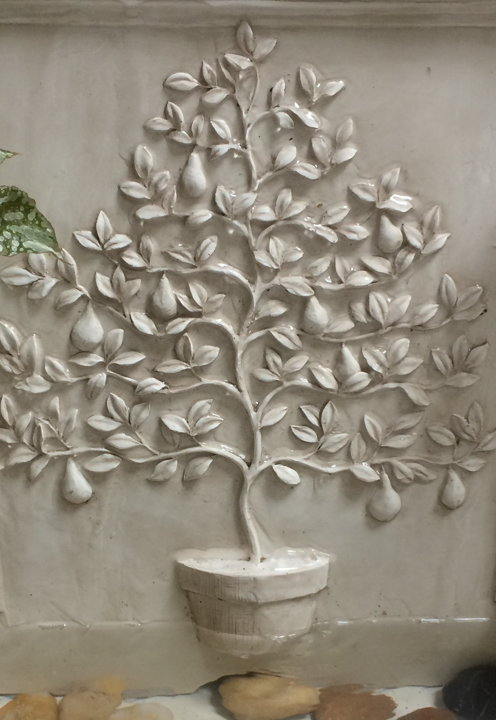 Pear Tree Of Life Fountain Garden Decor Henfeathers