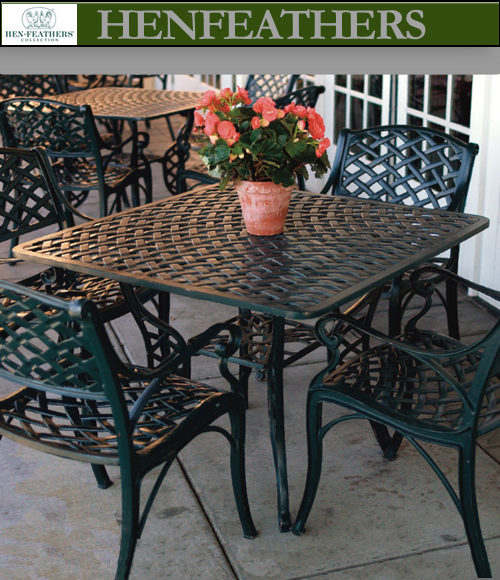 Woven Arch Garden Furniture Collection Henfeathers Com