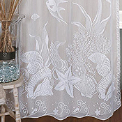 Lace Window & Shower Curtains