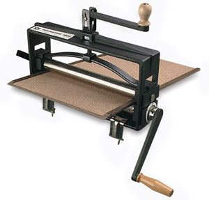 Platen With Cylinder Roll