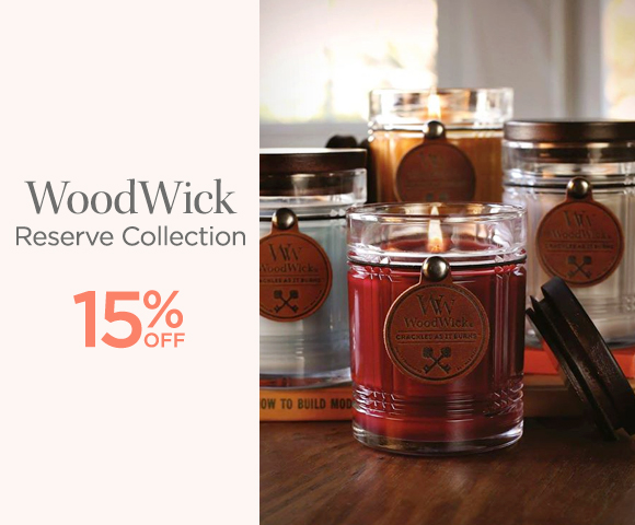 WoodWick - Reserve Collection - 15 Percent OFF