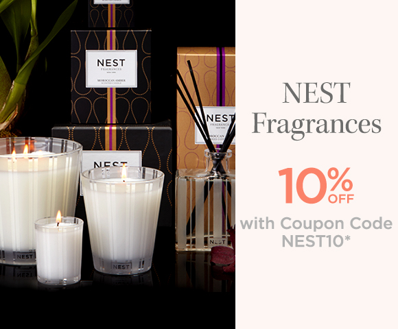 NEST Fragrances - 10 Percent OFF with Coupon Code NEST10*