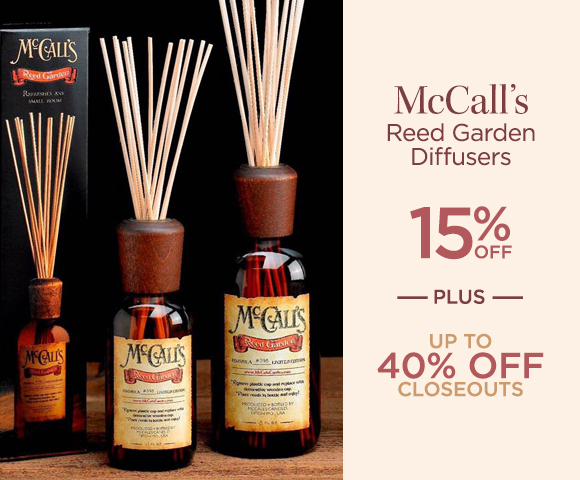 McCalls - Reed Garden Diffusers - 15 Percent OFF - Plus Up To 40 Percent OFF Closeouts