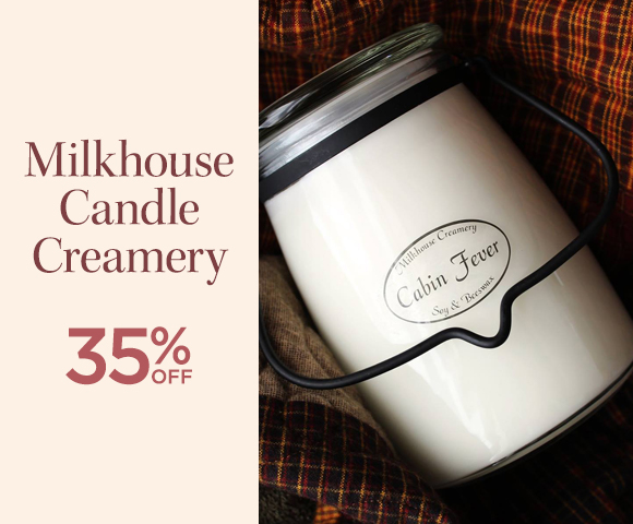 Milkhouse Candle Creamery - 35 Percent OFF