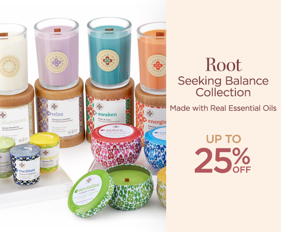 Root - Seeking Balance Collection - Made with Real Essential Oils - Up To 25 Percent OFF