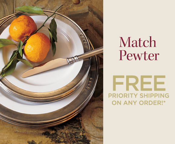Match Pewter - FREE Priority Shipping on Any Order*
