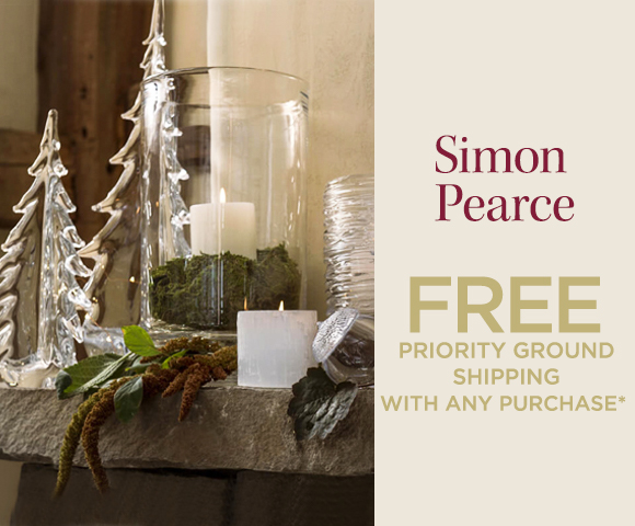 Simon Pearce - FREE Priority Ground Shipping with Any Purchase*