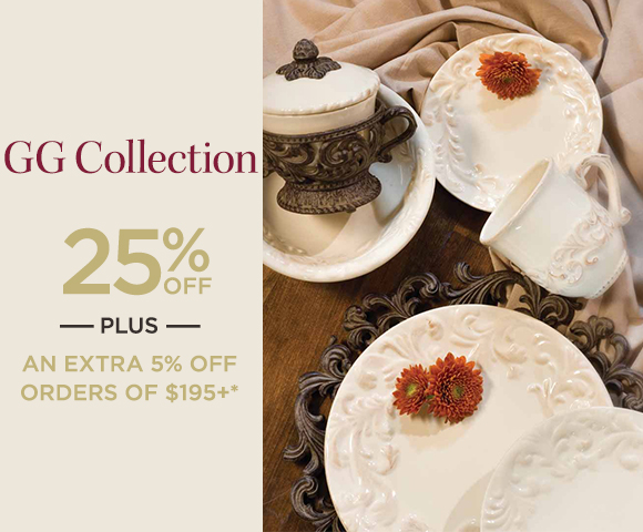 GG Collection - 25% OFF - Plus, an EXTRA 5% OFF Orders of $195+*