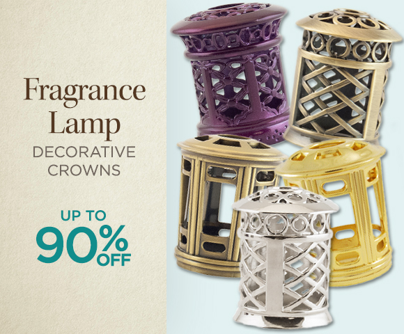 Fragrance Lamp Decorative Crowns - Up to 90 Percent OFF