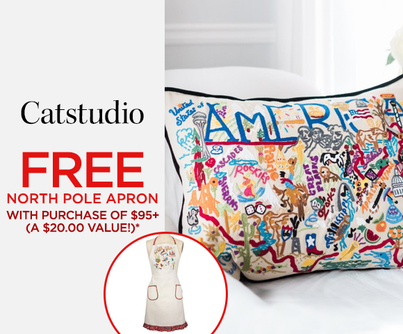 Catstudio - FREE North Pole Apron with Purchase of $95+ - A $20.00 Value*