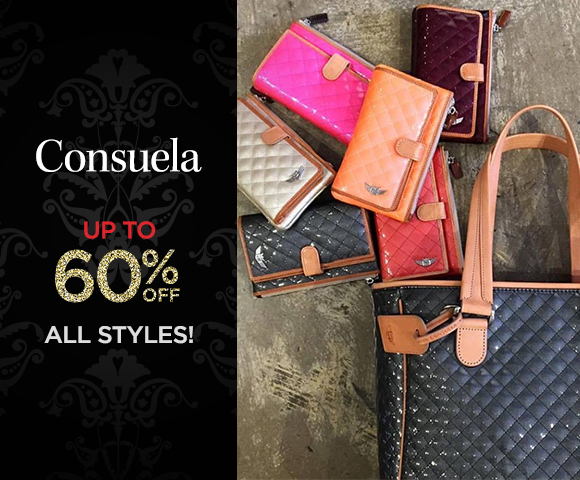 Consuela - up to 60 Percent OFF All Styles!
