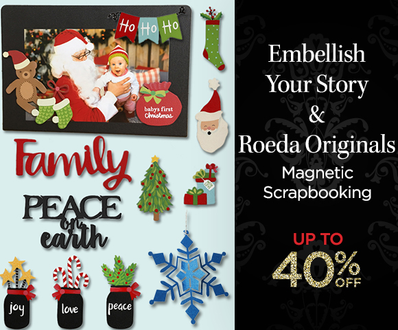 Embellish Your Story & Roeda Originals Magnetic Scrapbooking - Up to 40 Percent OFF