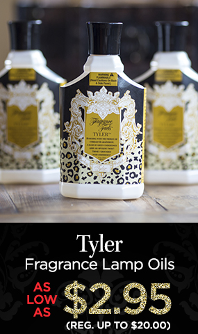 Tyler - Fragrance Lamp Oils - As Low As $2.95 - Reg. up to $20.00