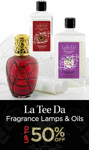 La Tee Da - Fragrance Lamps and Oils - Up to 50 Percent OFF