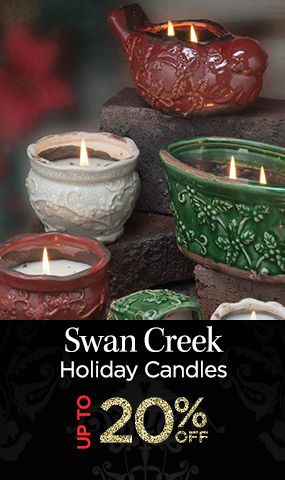 Swan Creek Holiday Candles - Up to 20 Percent OFF