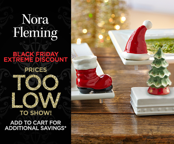 Nora Fleming - Black Friday Extreme Discount - Prices Too Low to Show - Add to Cart for Additional Savings