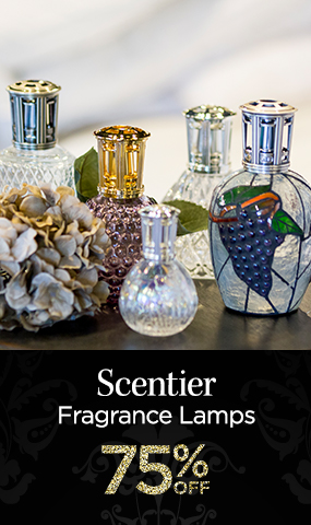 Scentier Fragrance Lamps - 75 Percent OFF