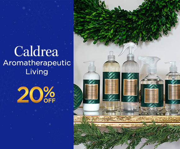 Caldrea Aromatherapeutic Living 20 Percent OFF