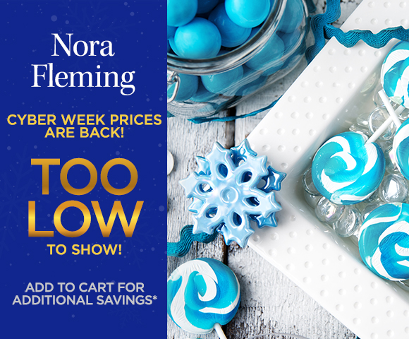 Nora Fleming - Cyber Week Prices are Back! Too Low To Show! Add to Cart for Additional Savings