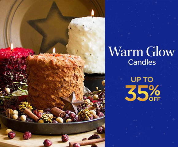 Warm Glow Candles - Up to 35 Percent OFF