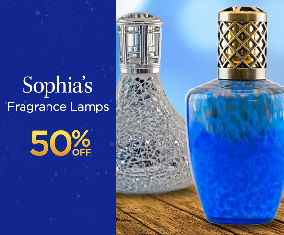 Sophia�s Fragrance Lamps 50 Percent OFF