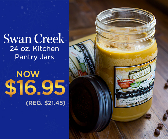 Swan Creek - 24 oz. Kitchen Pantry Jars - NOW $16.95 - Reg. $21.45