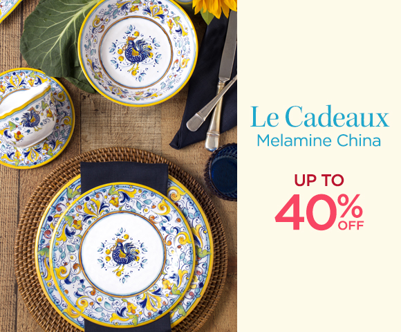 Le Cadeaux - Melamine China - Up To 40 Percent OFF