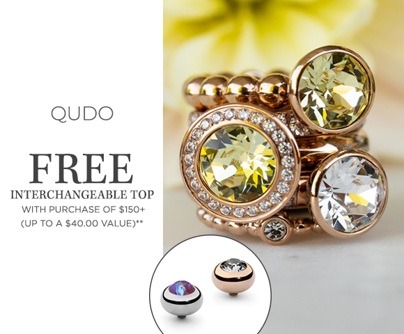 Qudo - FREE Interchangeable Top with $150+ Purchase - Up To A $40.00