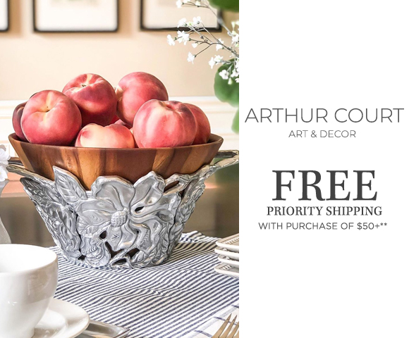 Arthur Court - FREE Priority Shipping on orders of $50+