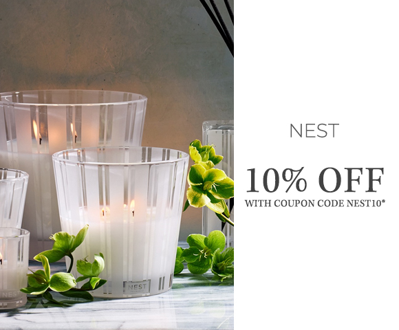 Nest - 10 Percent OFF with coupon code NEST10