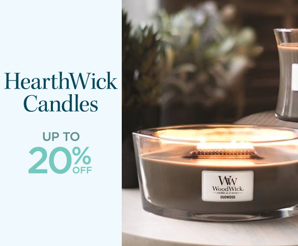 HearthWick Candles - Up to 20% OFF