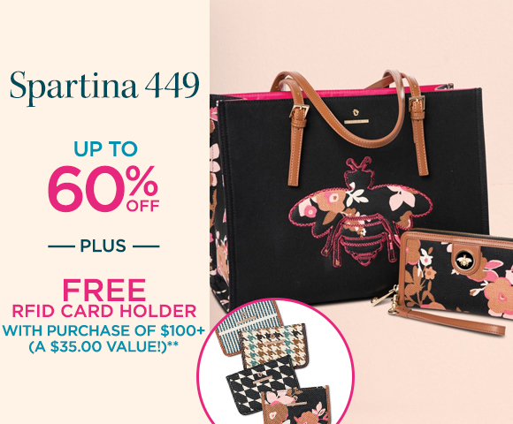 Spartina 449 - Up To 60% OFF - Plus, FREE RFID Card Holder with purchase of $100+ (A $35.00 Value!)**