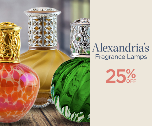 Alexandrias Fragrance Lamps - 25 Percent OFF