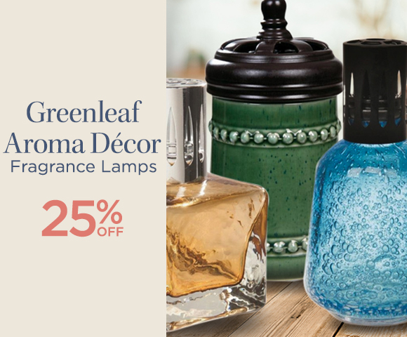 Greenleaf Aroma Decor Fragrance Lamps - 25 Percent OFF