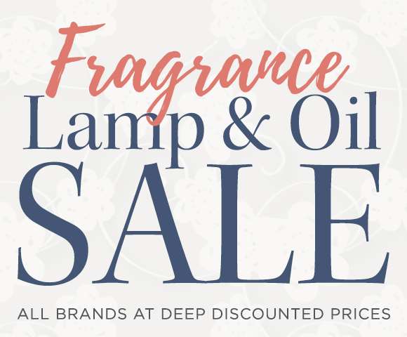 Fragrance Lamp and Oil Sale All Brands at Deep Discounted Prices