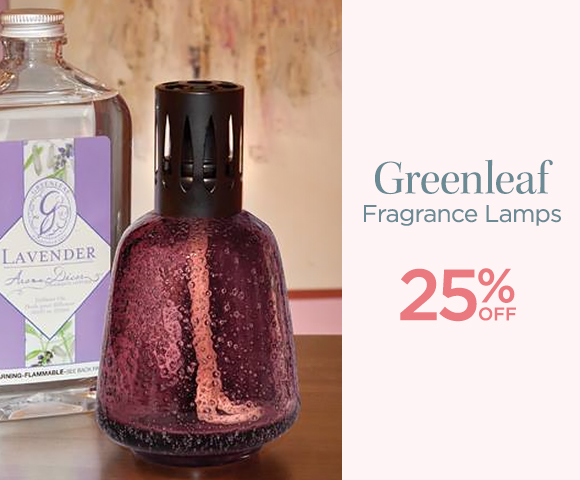 Greenleaf - Fragrance Lamps - 25 Percent OFF