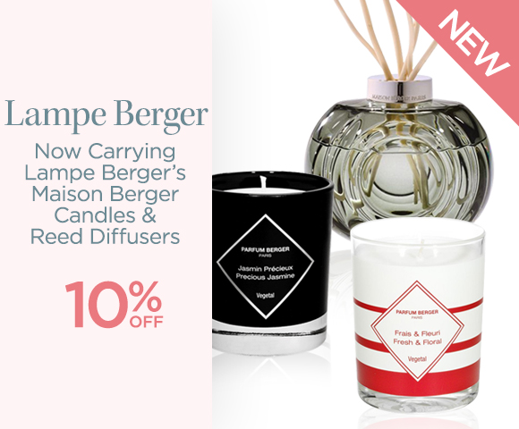 Lampe Berger - New - Now Carrying Lampe Berger�s Maison Berger Candles & Reed Diffusers - 10 Percent OFF