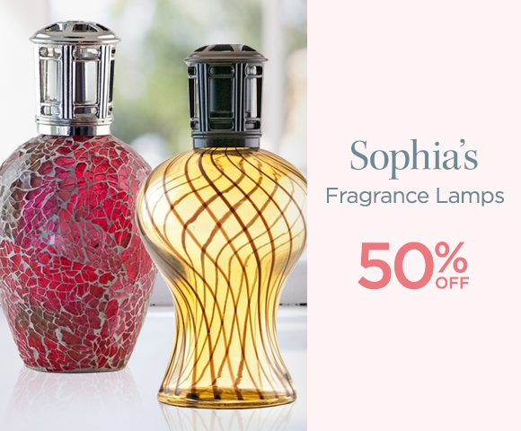 Sophias - Fragrance Lamps - 50 Percent OFF