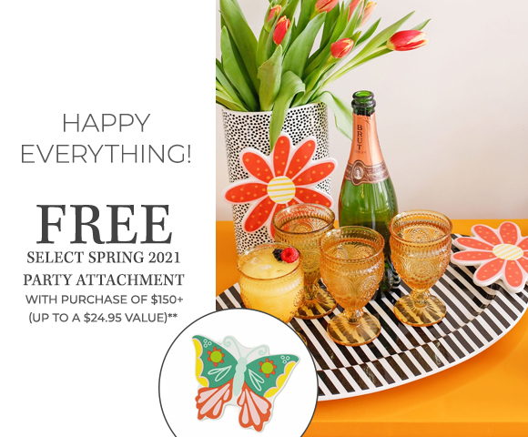 Happy Everything - FREE Select 2021 Spring Attachment with purchase of $150+ - Up To A $24.95 Value