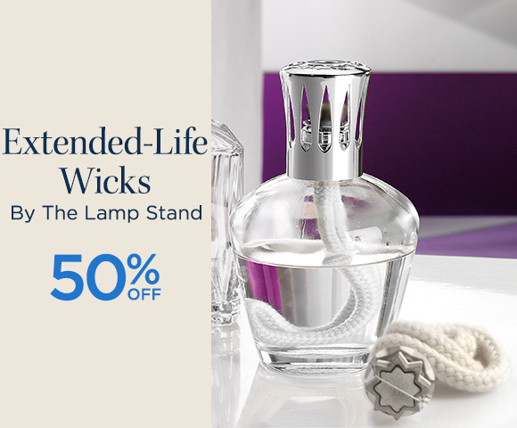 Extended-Life Wicks By The Lamp Stand - 50 Percent OFF