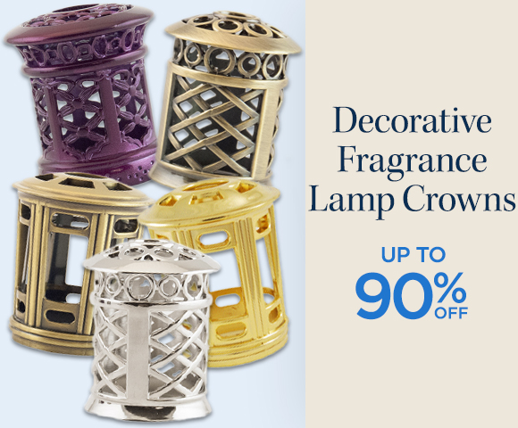 Decorative Fragrance Lamp Crowns - Up to 90 Percent OFF