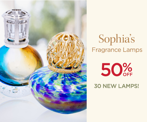 Sophias - Fragrance Lamps - 50 Percent OFF - 30 NEW Lamps